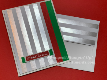 Foiled, Red and Green