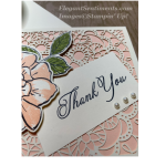 Thank You card using Stampin Up products