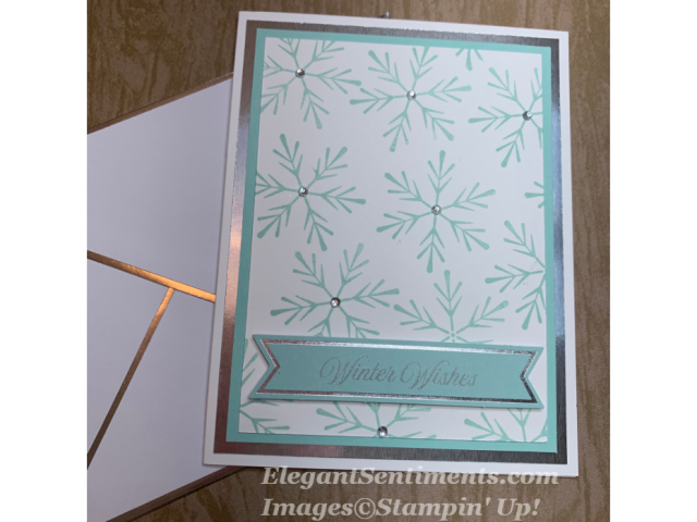 Paper Pumpkin card with stampin up products