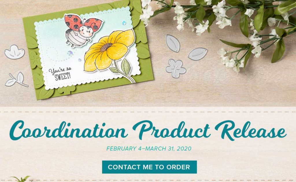 Product Coordination image from Stampin Up