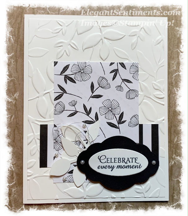 Birthday Card using Stampin' Up Products