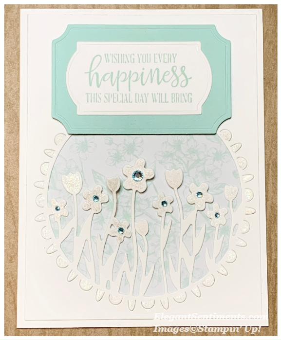Birthday Card with Stampin Up products