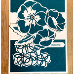 Floral card featuring Stampin