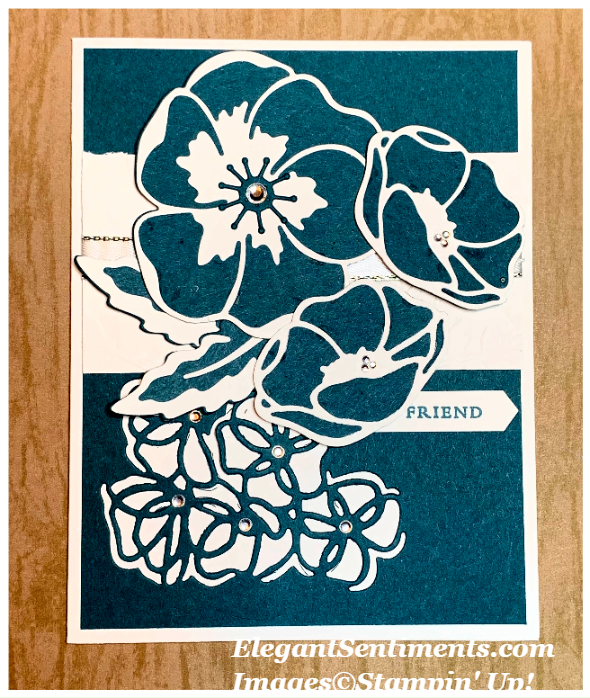 Floral card featuring Stampin' Up! products