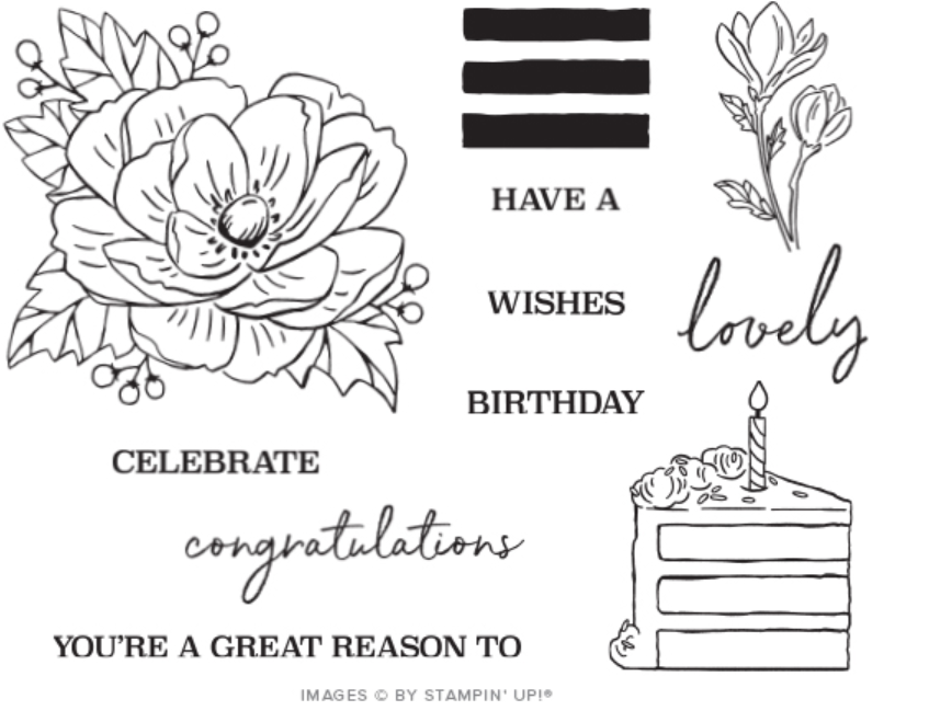 Stamp set from Paper Pumpkin by Stampin Up