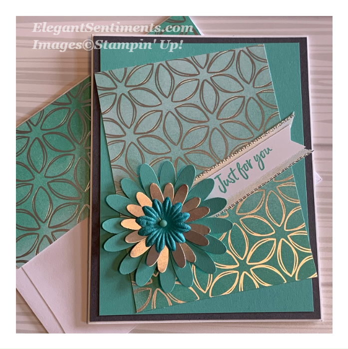 Just For You card made with Stampin Up products