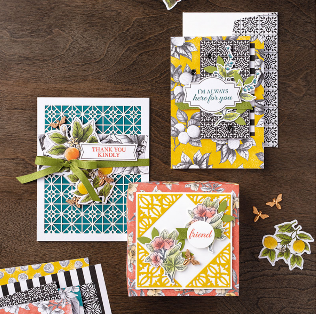 Botanical Prints Product Medley by Stampin' Up!