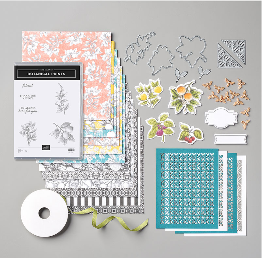 Stampin' Up! Botanical Prints Product Medley