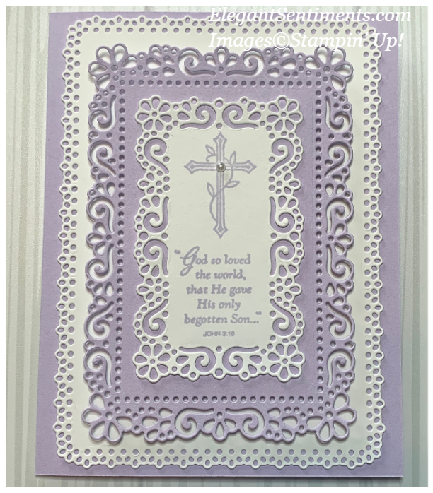 Easter Card made with Stampin' Up! products
