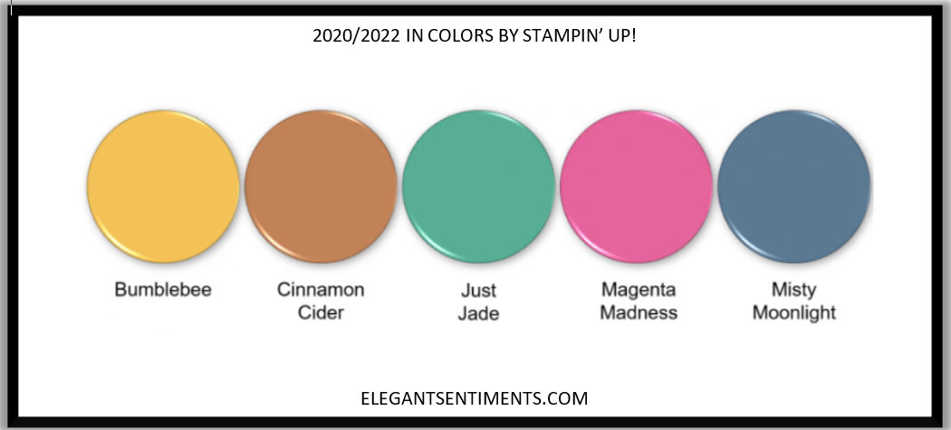 2020 IN COLORS BY STAMPIN' UP!