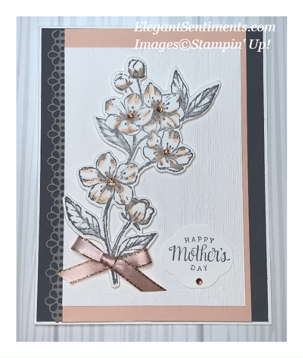 Mother's Day Greeting Card made with Stampin; Up! products