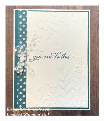 Teeny Sneak Peek #2 – Greenery Embossing Folder