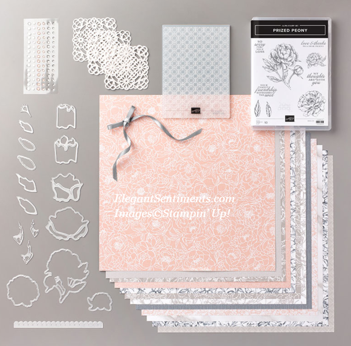 Peony Garden Suite of products by Stampin' Up!
