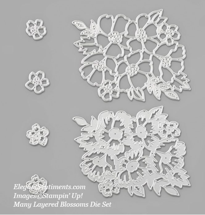 Many Layered Blossoms Die Set from Stampin' Up!