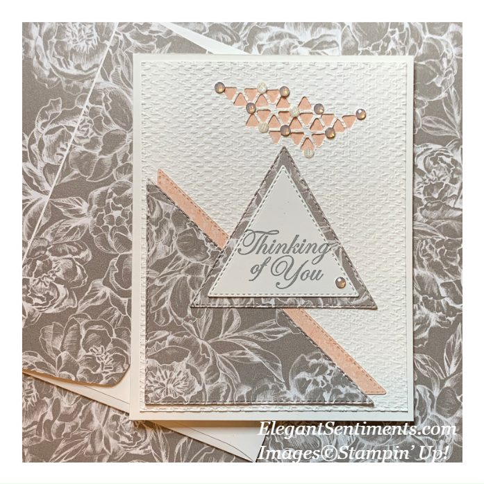 Thinking of you card make with Stampin Up! Products