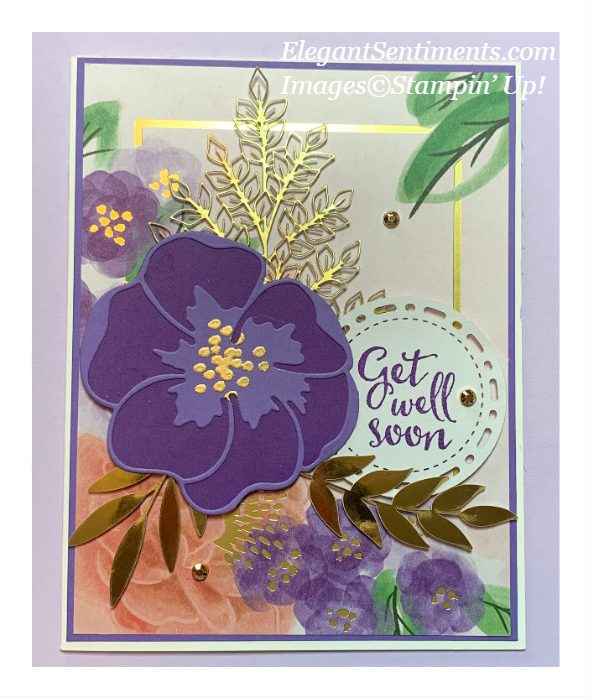 Get well card make with Stampin' Up! products