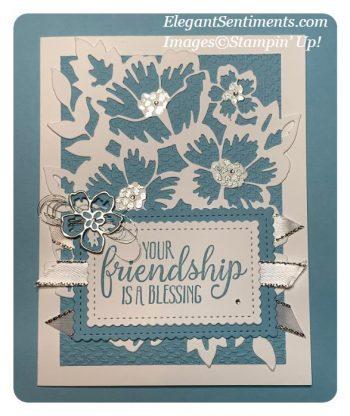 Balmy Blue Sentimental Friendship