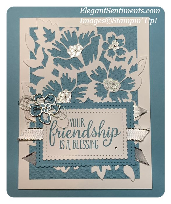 Friendship card made with Stampin' Up!